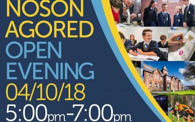 Open Evening 2018
